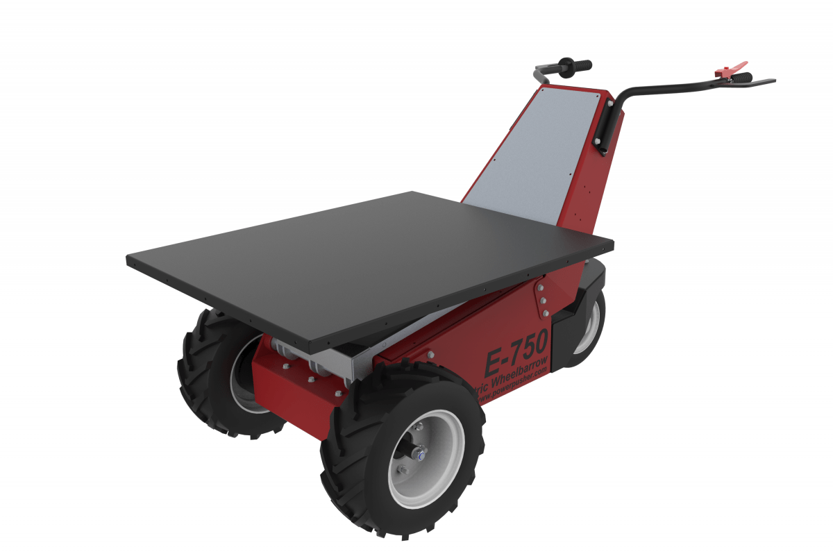 "E-750 Flat Bed - 2 Sizes: Short: 31"" w x 38"" l and Long: 31"" w x 48"" l"